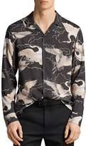 AllSaints Romaji Regular Fit Button-Down Shirt