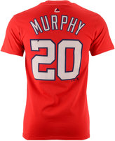 Majestic Men's Daniel Murphy Washington Nationals Official Player T-Shirt