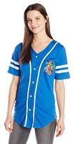 Marvel Junior's Short Sleeve Athletic Mesh Baseball Graphic Fashion Tee