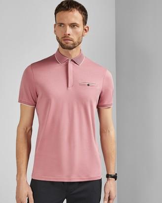 Ted Baker FINCHAM Cotton polo shirt