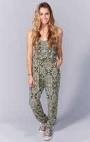 MUMU Cooper Playsuit ~ Olive You Spandy
