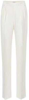 Max Mara Nembo high-rise cotton-blend pants