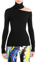 Emilio Pucci Shoulder Cutout Turtleneck Top