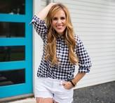 Rachel Hollis Ltd Woven Henley Shirt