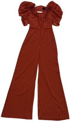 C/Meo Red Polyester Jumpsuits