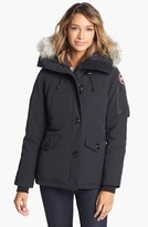 Canada Goose Women's Montebello Slim Fit Down Parka With Genuine Coyote Fur Trim