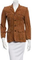 Ralph Lauren Suede Cargo Jacket