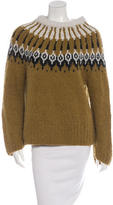 A.L.C. Patterned Cable Knit Sweater