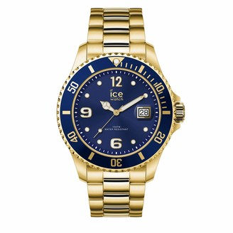 Ice Watch Ice-Watch - ICE steel Gold blue - Men's wristwatch with metal strap - 016762 (Large)