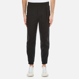 McQ Men's Chino Track Pants Black