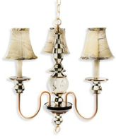 Mackenzie Childs MacKenzie-Childs Courtly Palazzo Chandelier