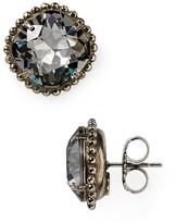 Sorrelli Round Crystal Stud Earrings