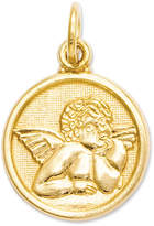 Macy's 14K Gold Charm, Polished Angel Charm