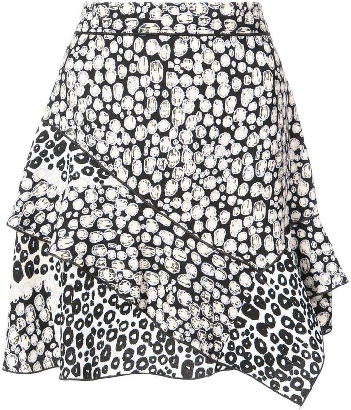 Derek Lam 10 Crosby Ruffle Mini Skirt