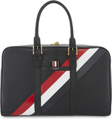 Thom Browne Striped leather holdall