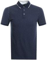 Ted Baker Toff Polo T Shirt Navy