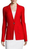 St. John Claire V-Neck Jacket