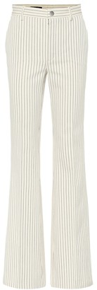 Loro Piana Roan pinstriped cotton pants