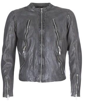 Redskins ROYCE men's Leather jacket in Grey