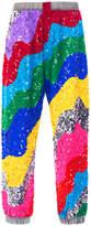 Mira Mikati Rainbow Wave Sequin Jogger