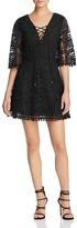 Tularosa Lace Lace-Up Dress