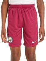 Nike Manchester City 2017/18 Away Shorts Junior