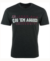 Colosseum Men's Texas A&M Aggies Verbiage Stack T-Shirt