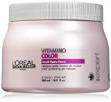 L'Oreal Serie Expert Vitamino Color Gel Masque, 16.9 Ounce