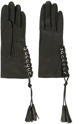 Manokhi Lace-Up Gloves
