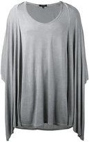 Unconditional draped T-shirt