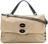 Zanellato messenger tote bag - women - Leather/Polyester - One Size