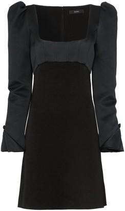 Ellery Heritage Faille Mini Dress