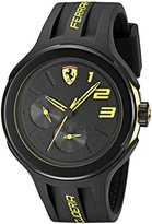 Ferrari Men's 830224 FXX Yellow-Accented Black Watch
