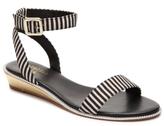 Nicole Miller Artelier Kenton Stripe Wedge Sandal