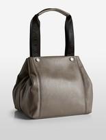 Calvin Klein Athletic Pebble Leather Tote Bag