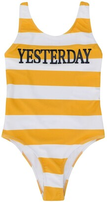 Alberta Ferretti Kids Striped Swimsuit