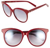 Bobbi Brown Women's 'The Lucy' 54Mm Sunglasses - Black/ Red