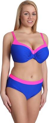 Merry Style Womens Bikini Set P190-65TSG (Pattern-3 EU(Cup 75 F/Bottom 38)=UK(34F/10))