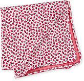 Kate Spade Rose-Print Jersey Baby Blanket, Multicolor