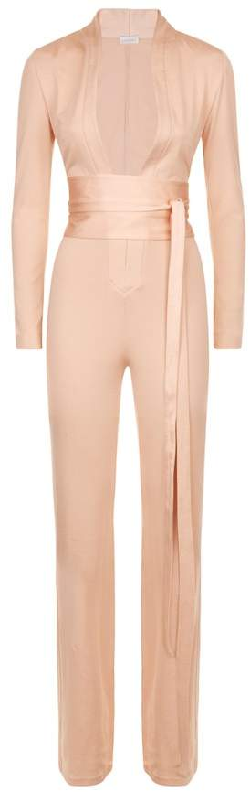 La Perla Essentials Essentials Bi-Stretch Silk Jersey Jumpsuit