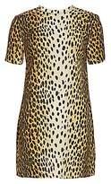 R 13 Women's Cheetah Print Shift Dress