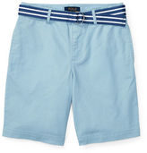 Ralph Lauren Childrenswear Suffield Belted Stretch Chino Shorts