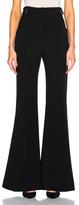 Proenza Schouler Silk Cashmere Irregular Stripe Cropped
