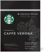Starbucks VerismoTM 12-Count Caffe Verona® Brewed Coffee Pods
