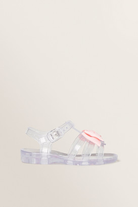Seed Heritage Bow Jelly Sandal
