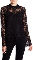 Romeo & Juliet Couture Lace Scalloped Shirt