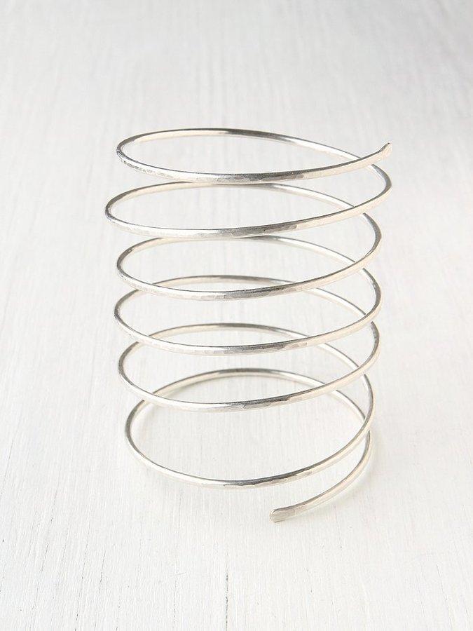 Nashelle Statement Spiral Cuff