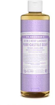 Dr. Bronner's Organic Lavender Castile Liquid Soap 473Ml