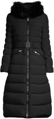 Post Card Urban Mana Fur-Trim Puffer Coat