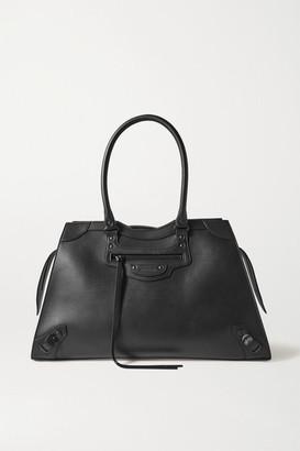 Balenciaga Classic City Large Leather Tote - Black